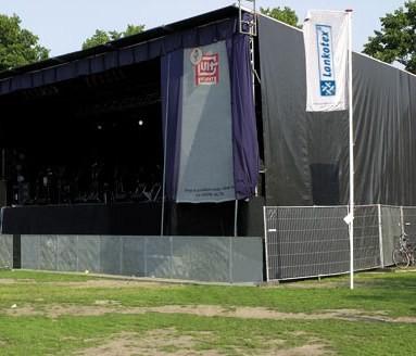 Bühnengaze B1 nach DIN 4102