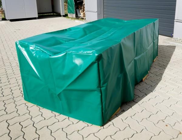 PVC-Abdeckhaube - grün