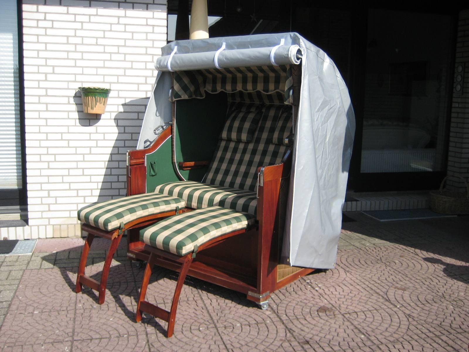 hochwertige strandkorbhaube aus pvc planen shop24. Black Bedroom Furniture Sets. Home Design Ideas