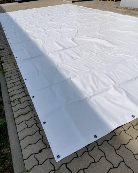 PVC-Plane 4,50 x 9,00m - weiss