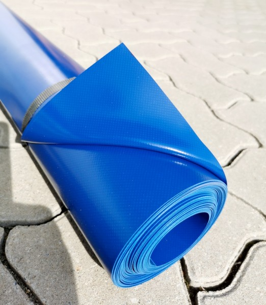 PVC-Rollenabschnitt, 1 x 10 m - blau