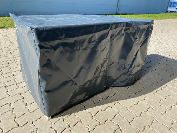 PVC-Haube 1,36 x 0,71 x 0,65 - anthrazitgrau